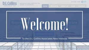 Welcome to the New D.L. Collins Website!