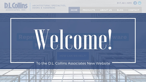 New Website for D.L. Collins Associates